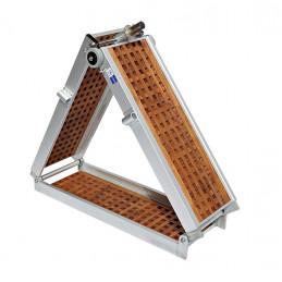 Passerelle modèle Légère avec du Teck 2x pliable 2m et 2.5m