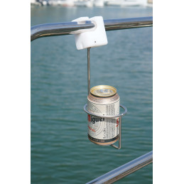 Support boisson pour balcon / chandelier